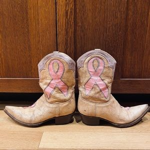 The Old Gringo Bella Breast Cancer Boot